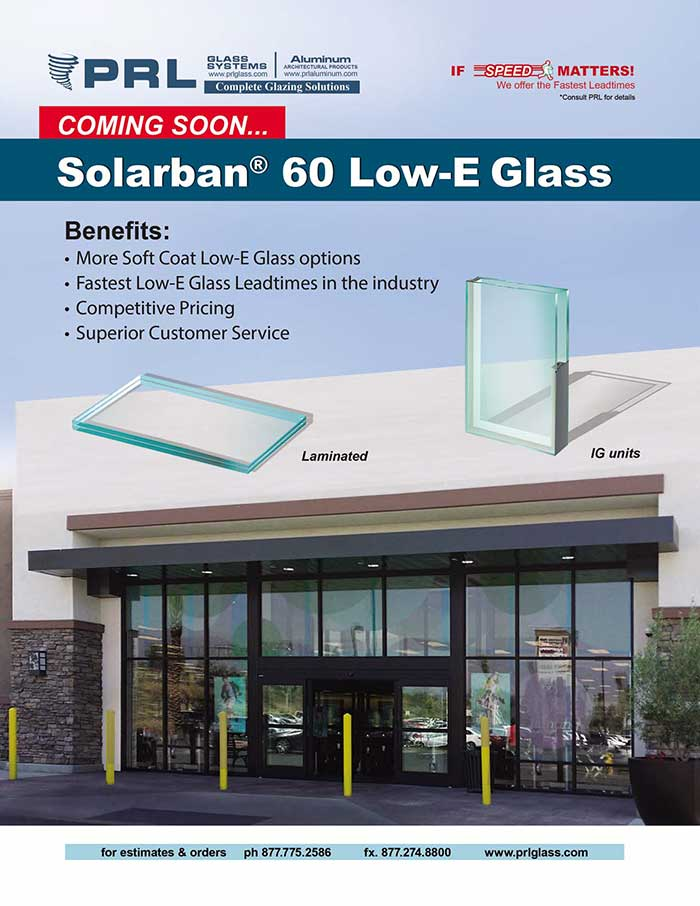Coming Soon, SOLARBAN 60 Low E Glass!