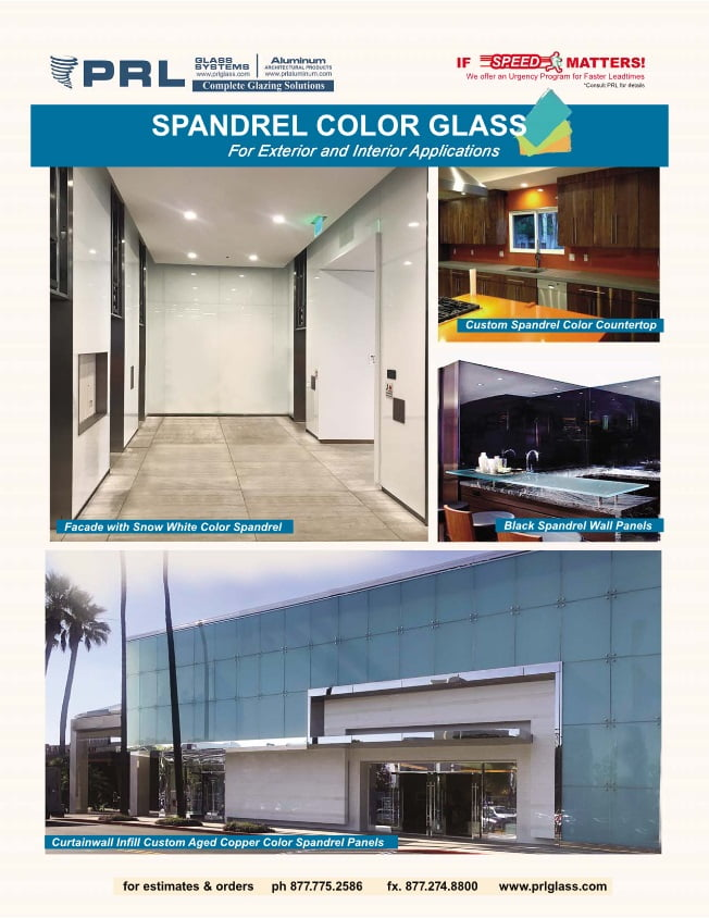 spandrel glass colors