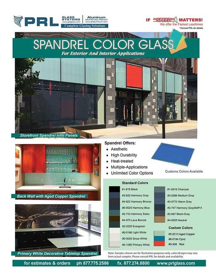 Interior Spandrel Glass