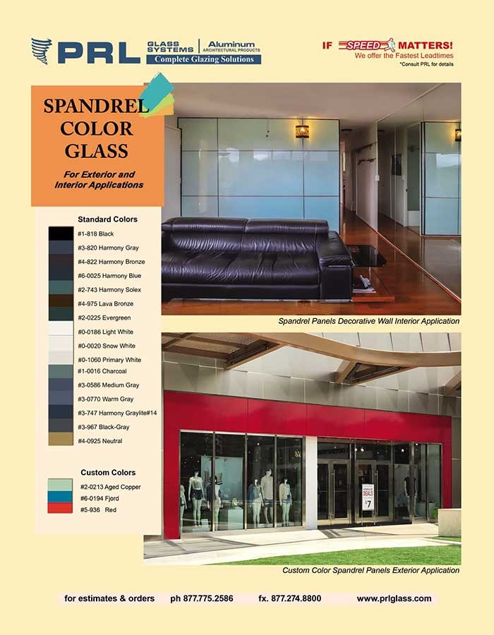 Spandrel Glass. Innovate Your Job Proposals with Infinite Colors