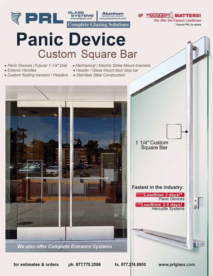 Square Bar Panic Device