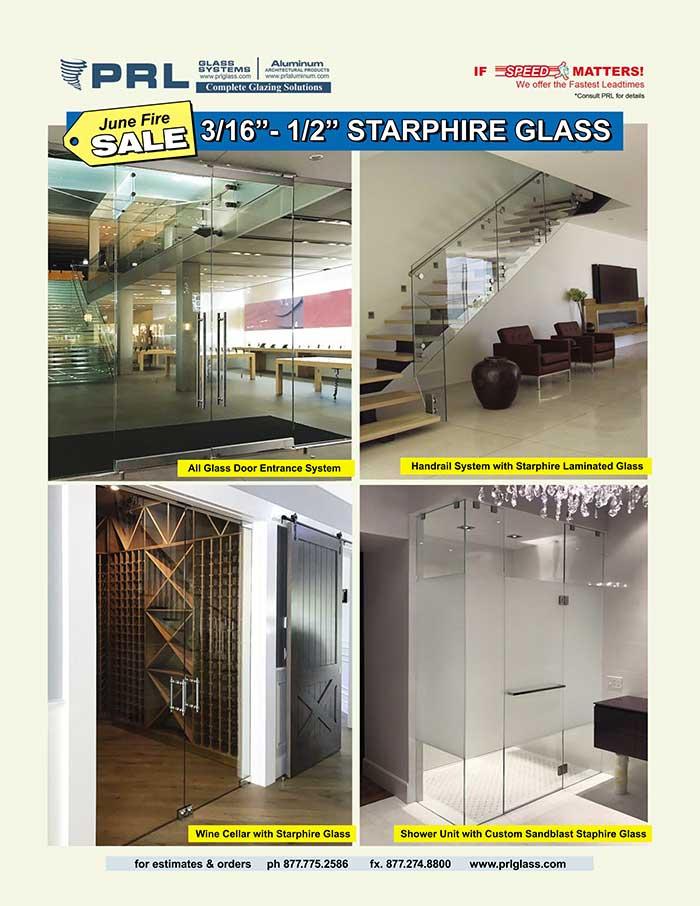 June Fire Sale Dazzling Starphire® Glass!!!