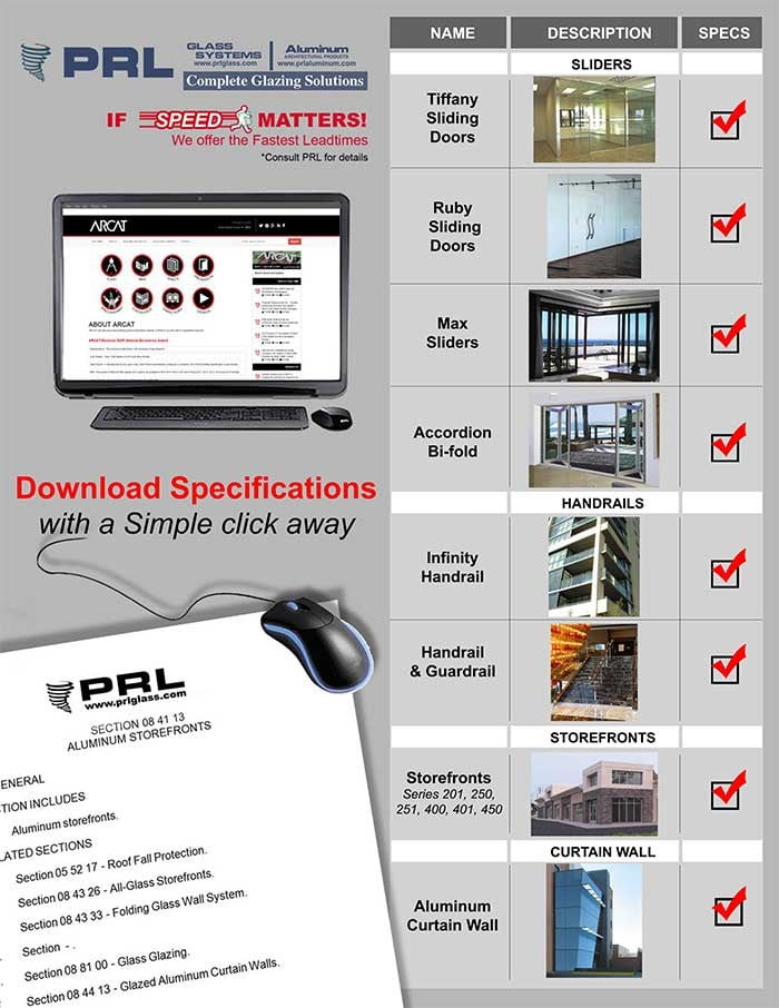 Architectural Glass Specifications