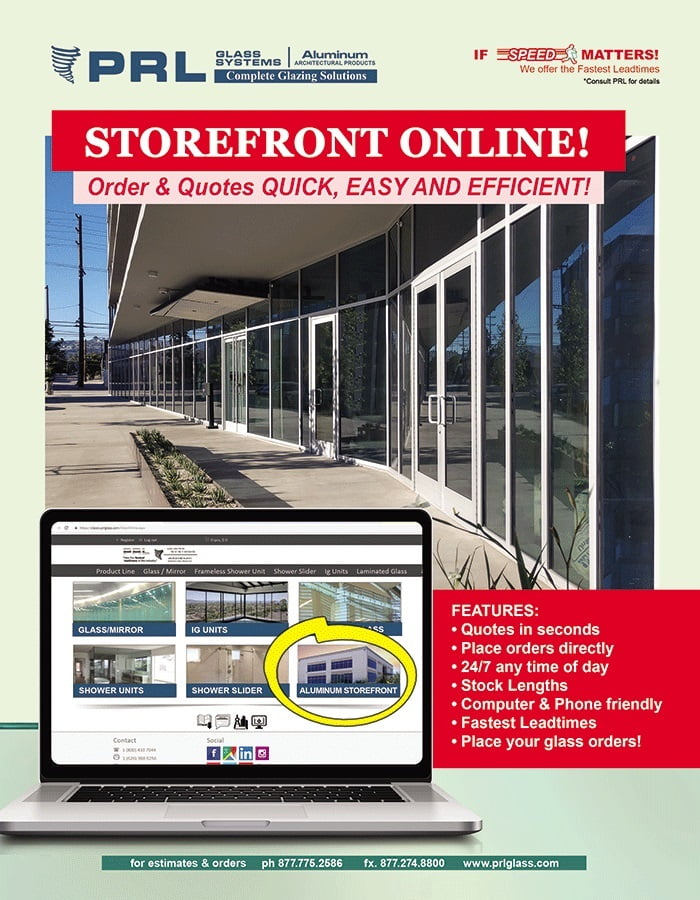 Need Storefront Stock Lengths? Get Contact-Free Online Shopping at PRL!