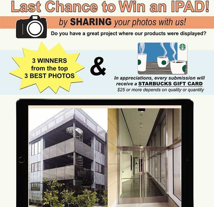 Last Chance to Win an iPad! Submit Your Photos for PRL's New Catalog!
