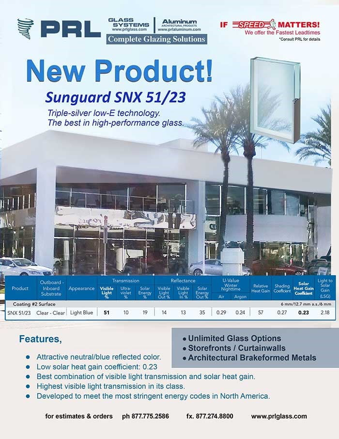 PRL adds SNX 51/23 to its variety of glass and metal products!