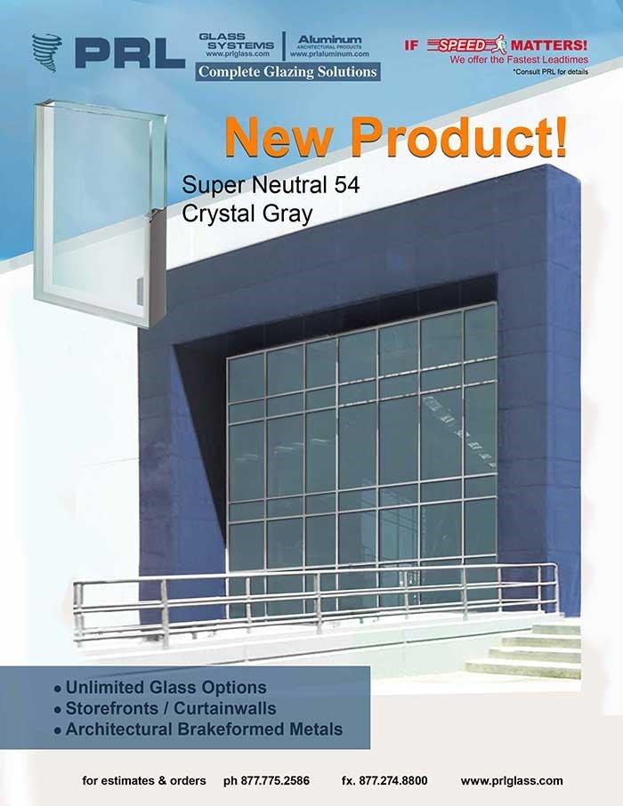 PRL adds Super Neutral 54 crystal gray to its variety of glass and metal products!
