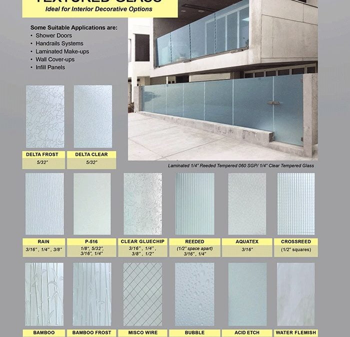 Create Privacy & Accentuate Your Décor with PRL's Textured Glass