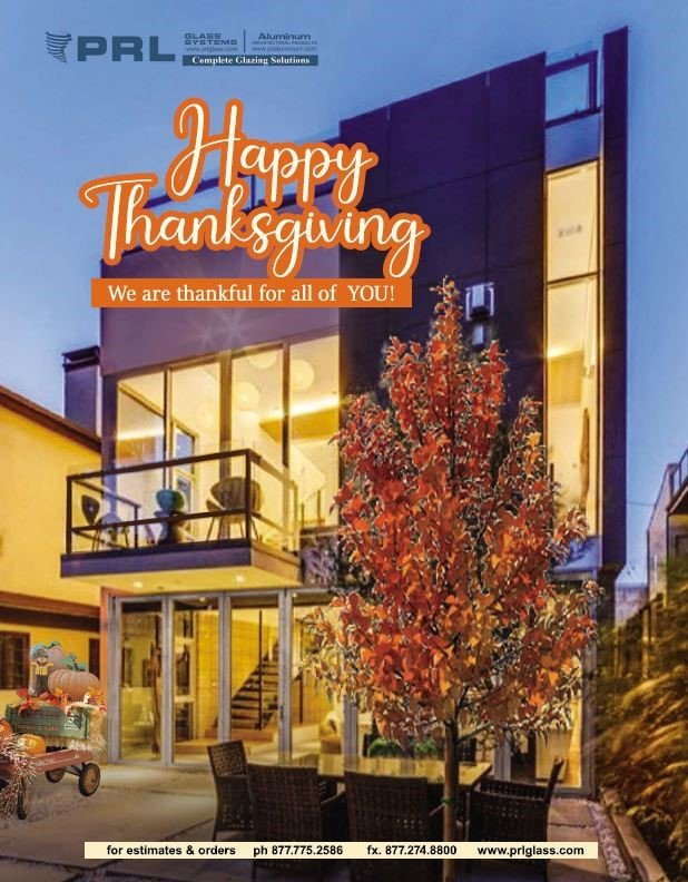 Thanksgiving Greetings & Gratitude from PRL To You