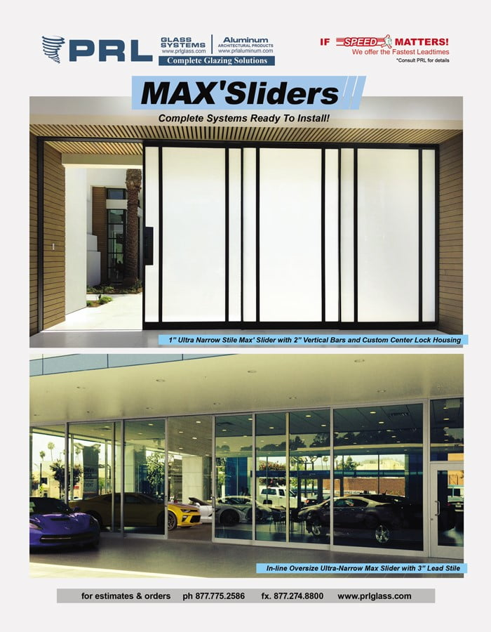 Ultra-Narrow Max Aluminum Sliders